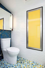 beautiful green bathroom theme with white color accent and yellow