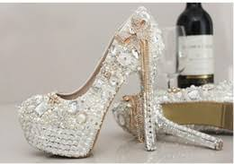 Prom Shoes Flats Discount Bling Wedding Shoes Flats 2017 Wedding Shoes Flats