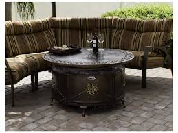 Decorative Patio Heaters by Az Patio Heaters Round Cast Aluminum Decorative Firepit In Bronze