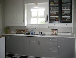 White And Grey Kitchen Cabinets by Cabinet Color Is River Reflections Benjamin Moore Chelsea 16