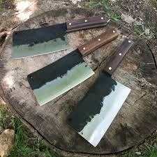 Hand Forged Japanese Kitchen Knives Butcher Knife Meat Cleaver Chef Knife Hand Forged Knife