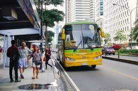 philippines bus philippines information travel and local information guide
