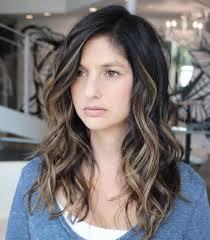 even hair cuts vs textured hair cuts long wavy brunette balayage style hair pinterest balayage