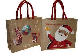 christmas reusable shopping bags fashion handbags
