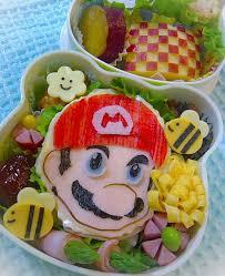 jeux de mario cuisine mario bento box i you en cuisine jeux vidéos et vidéos