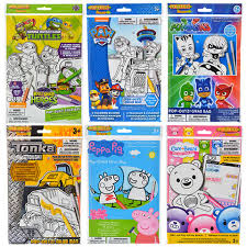 book bags in bulk bulk pop outz grab bags licensed activity kits at dollartree