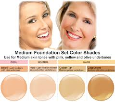 airbrush makeup for black skin belloccio foundation set 4 color kit primer