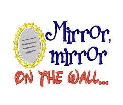 Mirror Mirror On The Wall Snow White Snow White Mirror Clipart 49