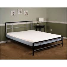 bedroom minimalist silver metal panel full size bed frame in