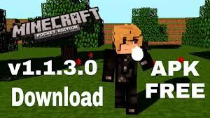 free minecraft apk minecraft pe v1 1 3 0 apk free