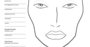 Becoming A Makeup Artist Becoming A Makeup Artist Free Blank Mac Makeup Chart