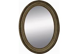White Framed Oval Bathroom Mirror - bathroom ideas wooden carve framed oval home depot bathroom