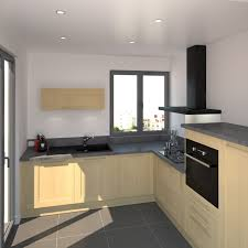 vernis plan de travail cuisine cuisine en l classique décor bois finition verni plan de travail
