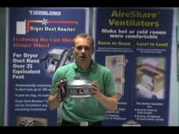 air duct assist fan 4 facts in 60 seconds tjernlund inline duct booster fans youtube