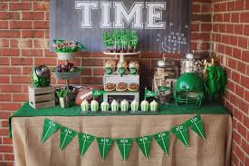 football party ideas kara s party ideas tailgate football birthday party kara s party
