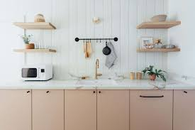 ikea kitchen base cabinets australia ikea kitchen upgrade with semhandmade cabinet doors in pale pink
