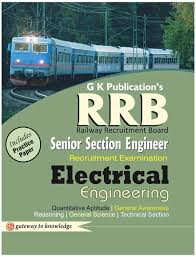rrb senior section engineer recruitment examination electrical