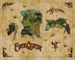 League Of Legends World Map by The Great Land Of Everquest U2026 Norrath Before The Countless