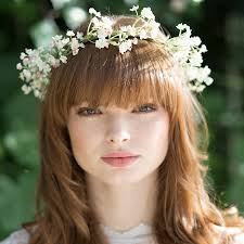headband flowers gypsophila flower headband enchanted forest fairy mini session