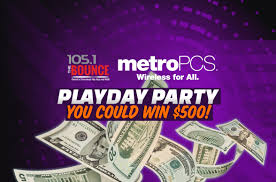 Resume For Metro Pcs Metropcs Play Day Parties 105 1 The Bounce