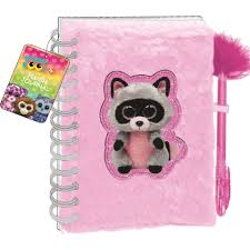beanie boos plush journal colors styles vary toys