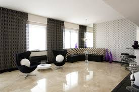 attractive white marble floor living room with tile flooring on