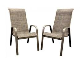 Caluco Patio Furniture Interesting Sling Back Patio Chairs With Outdoor Patio Dining Set
