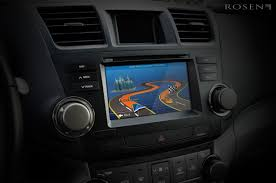nissan altima navigation system factory look u0026 univ 2din multimedia w navigation rosen electronics