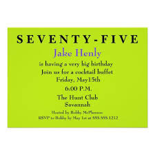 save the date surprise 75th birthday invitation u2013 save the date cards