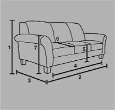 couch measurements measuring your sofa buyer guide dfs dfs