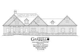 House Plans Cottage by Wilks Cottage House Plan House Plans By Garrell Associates Inc
