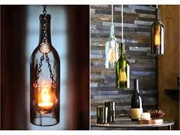 Wine Bottles With Lights Empty Wine Bottle Craft Ideas Decor Pictures Ideas For Christmas