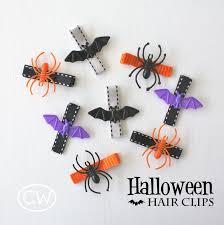 diy halloween hair clips honest to nod