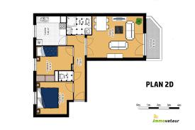 appartement 2 chambre appartement 2 chambres avec garage et balcon en plein cœur de