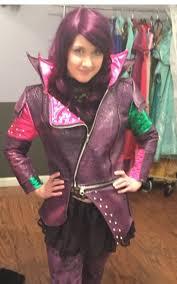mal costume custom made disney descendants mal costume faux leather