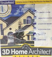 3d Home Architect Design 6 by Broderbund 3d Home Architect Deluxe 6 Ebay