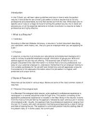 Write Resume How To Write Resumes Ebook