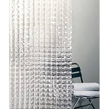 Vinyl Shower Curtain Cubic Prism Vinyl Shower Curtains