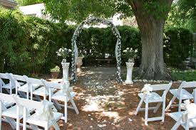 backyard weddings awesome small backyard wedding ideas on a budget pictures styles