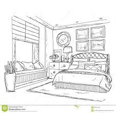 dessin chambre b lovely ideas dessin de chambre int rieur moderne coucher illustration jpg