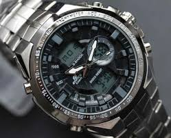 Jam Tangan Casio New jam tangan casio edifice efa 150 time stainless steel hitam