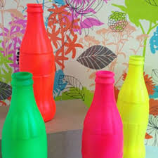 add a pop of colour with plastikote fluorescent spray paint on