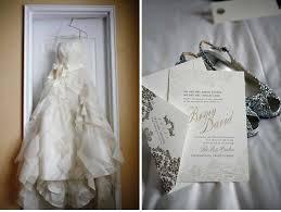 vera wang wedding invitations foil sted wedding invitations inspired by vera wang wedding dress
