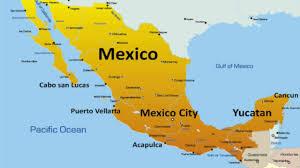 Mexico Resorts Map by Mexico Nigeria Economy Youtube