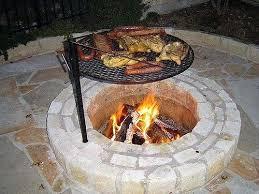 Grill Firepit Firepit Grille Cast Iron Pit Grate Grill Firepit Grille