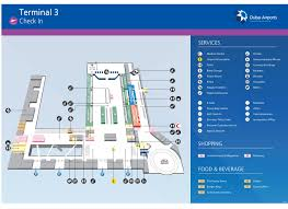 Dallas Terminal Map by Terminal 3 Dubai Map Terminal 3 Dubai Airport Map United Arab