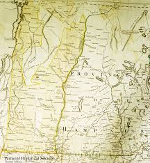 Map Of Vt State Maps Vermont Historical Society