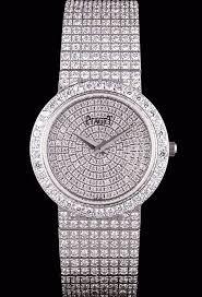 bracelet diamond watches images Duplicated swiss piaget limelight full set diamonds round case jpg