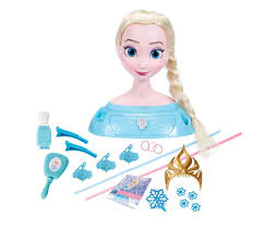 disney frozen majestic styling hair head elsa toys