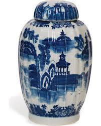white ginger jar l deal alert summer palace chinese hand painted blue white ginger jar